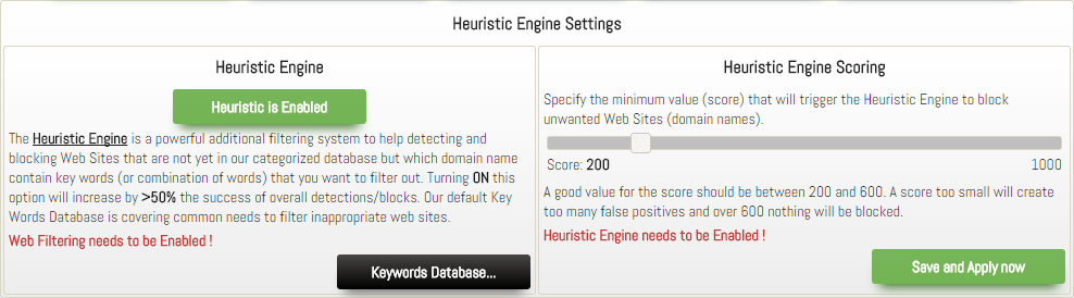 Heuristic Engine